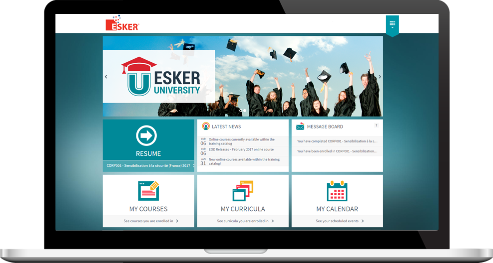 formación al software Esker on demand, quit paper