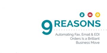 ¿Por qué automatizar los pedidos que llegan por email, fax...