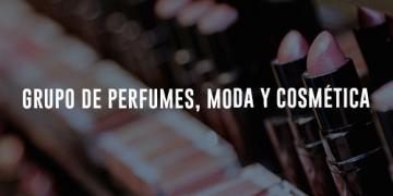 Grupo de perfumes, moda y cosmética